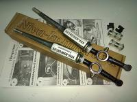 Бесшумные рычаги на раздаточную коробку (с пресс-масленкой и осями; прямые) «Нива-Комфорт»